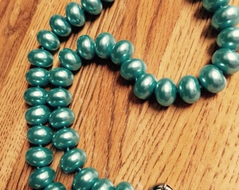 Pearl necklace fat chunky Pearl necklace no flaws/akoya