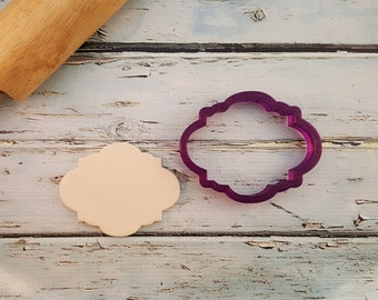 Sweetiedoodle Plaque Cookie Cutter and Fondant Cutter and Clay Cutter