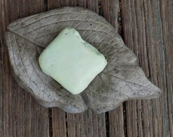 Concrete Hydrangea Leaf Soap Dish/Garden Decor