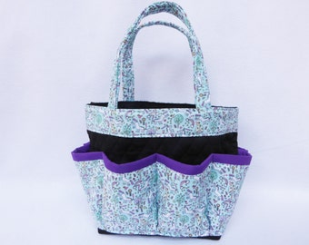 Unicorn Bingo Bag // Craft Organizer // Makeup Organizer // Caddy // Teacher Tote // Nurse Tote