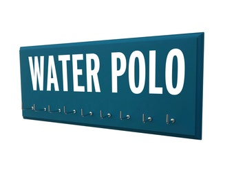 Water polo medals hanger, Water polo, water polo gift, gift for water polo sport fan, water polo, sports, water polo player, coach gift