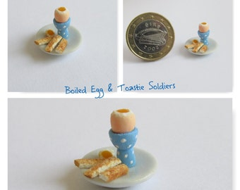 Boiled Egg & Toastie Soldiers