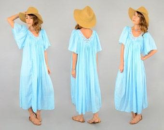 70's Trapeze TENT Dress