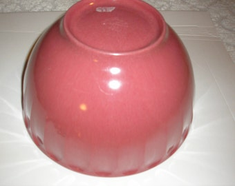 "Boonton Rasberry  9.5"" Mixing  Bowl"