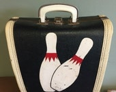 Vintage Customized Bowling Bag