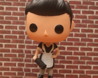 Maid Castiel - Custom Funko pop toy
