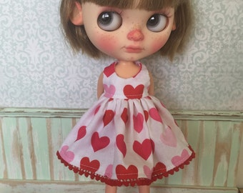 Blythe Dress - Hearts
