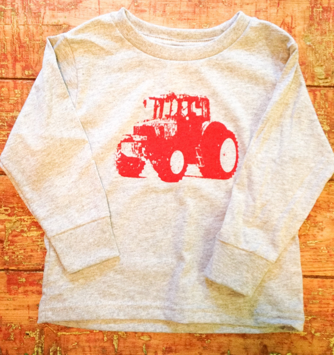 Tractor Shirt Birthday Tshirt Farm Truck