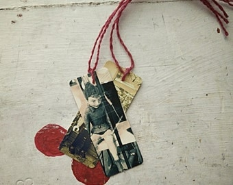 GIFT TAGS HOLIDAY Elf Toy Soldier
