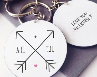 Arrow Initial Keyring