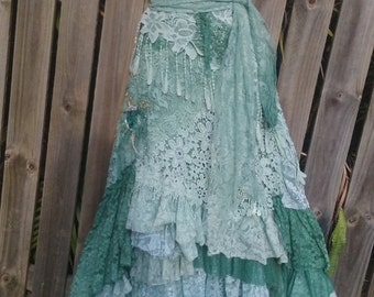 "20% OFF boho wedding dress formal brides maid bohemian lagenlook gyspy vintage  ..38'' to 44"" bust.."