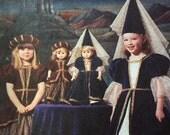 children's custom costume medieval