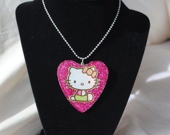 Hello Kitty Resin Necklace
