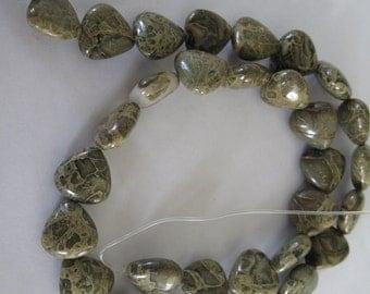 Triangle Shaped Agate Bead
