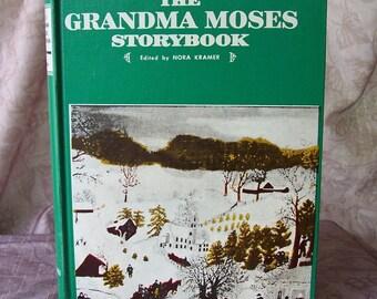 Vintage book-The Grandma Moses Storybook