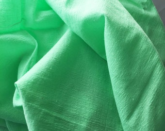 Green Apple Muslin Swaddling Blanket - XL 47 X 47 Square - Light & Airy Fabric - Perfect For A Snug Wrap - XL Size Adapts To Child's Needs