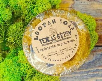Exfoliating Loofah Soaps