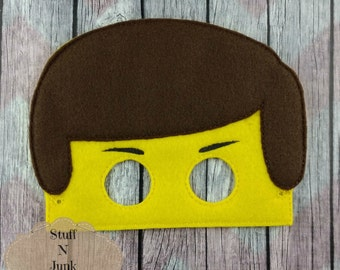 Block People Children's mask, the special