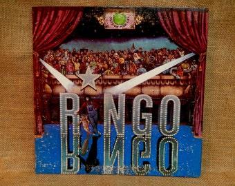 RINGO STARR - Ringo - 1974 Vintage Vinyl Gatefold Record Album