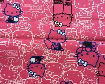 Hello kitty pink colour 100cm x 69cm Last one