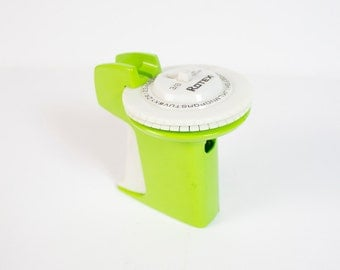 """Vintage Rotex 3/8"""" Labeler - Bright Green"""