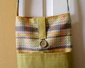 Shoulder Bag, Cross Body With Outer Pockets