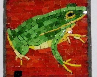 Frog Gree Mini Mosaic 16