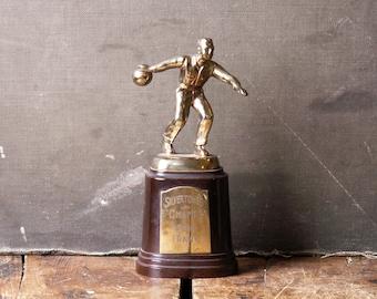 Vintage Men's Bowling Trophy - Great Guy Gift