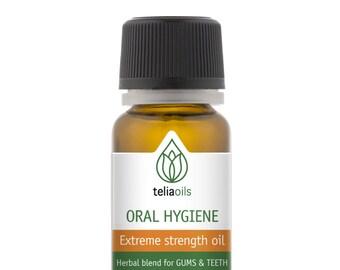 Herbal Oregano Antimicrobial Blend Oral Oil, Dental Gum Rinse, Mouthwash, Bad breath, Bleeding Gum, 0.33 fl. oz / 10 ml