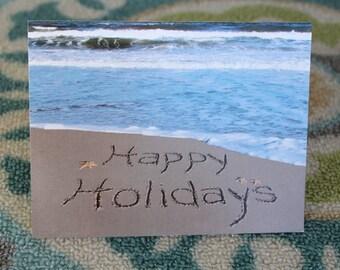 Happy Holidays Notecard
