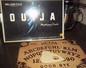 Vintage Ouija Board by Parker Brothers, Inc Mystifying Oracle Salem MA Talking Board Set