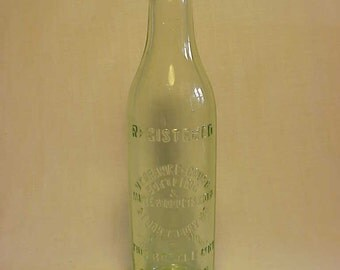 1929 Vt. Orange Crush Bottling & Maple Products Corp. St. Johnsbury, VT. , Scarce Orange Crush Soda Bottle