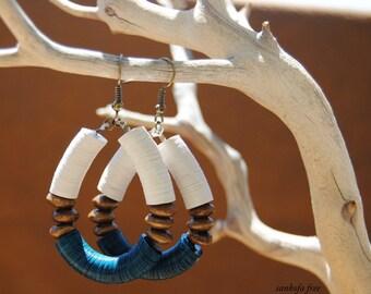 Adunade tribal earrings afrocentric  bespoke  artisan jewelry  ethnic jewelry  african jewelry  tribal jewelry - african earrings - jewelry