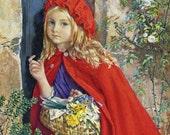 Little Red Riding Hood, Oakley Naftel - Cross stitch pattern pdf format
