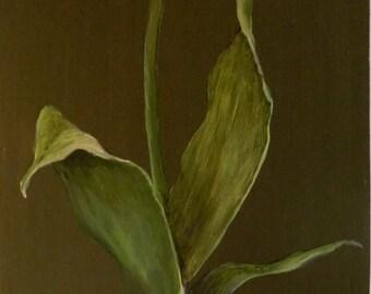 Original Oil Painted on MDF Panel