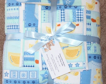 Baby Blanket Set with 2 Burp Cloths #1B-763