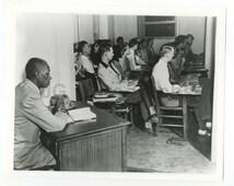 African Americana - Segregation - Vintage 8x10 Publication Photo - Oklahoma