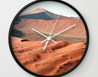 Sand Dunes Photography Wall Clock