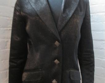 Black glam jacket