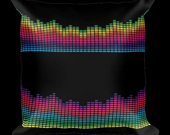 Sound Bar Designer Throw Pillow