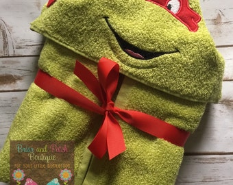 Raphael Hooded Towel (Ready to Ship)