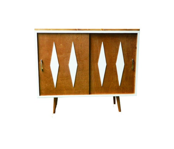 Mid Century Bookcase / Storage Cabinet - MADE TO ORDER