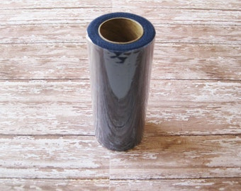 Navy Blue Tulle | 25 Yard Roll, 6 Inch Wide Navy Blue Nylon Tulle | Tutu Tulle