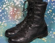 Men's COMBAT BOOTS Size 10 R