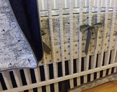 SALE--VALENTINES SALE---- Made to Order- 4 piece Aviation Bedding- Boy Crib Bedding- Navy and Gray