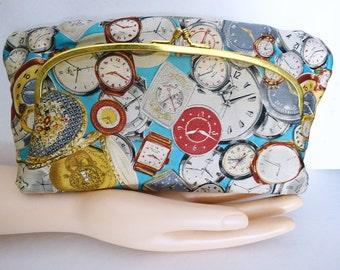 Vintage 1950s Purse//50s Purse//Coblentz Original//Watches//Clocks//