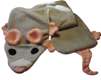 Fleece Rat Scarf