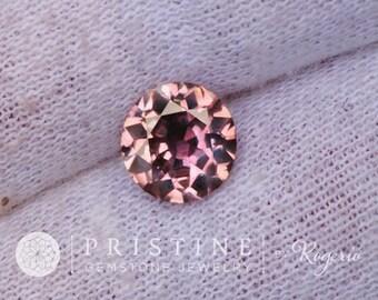 Purple Sapphire 7.4 MM Round Shape Fine Gemstone for Engagement Ring September Birthstone