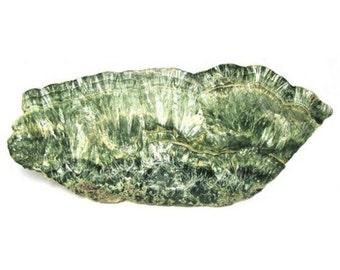 Seraphinite Slab Specimen Russian Siberian Angel Stone