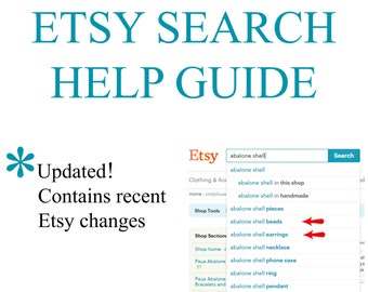 Etsy SEO; Easy Etsy Search Help, How to Sell & Be Most Relevant, Title and Tag Guide, Etsy Seller Tutorial, Relevancy Optimization